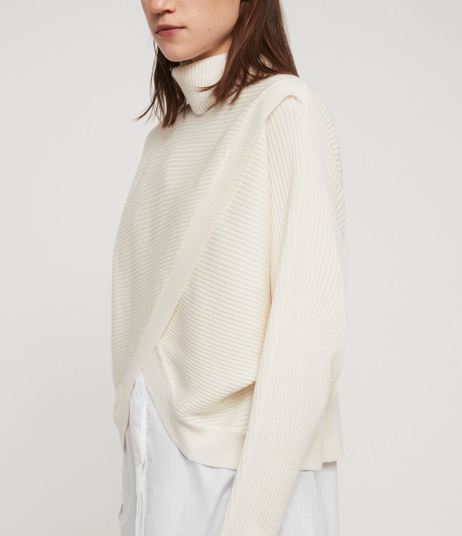 Womens Marias Sweater (chalk_white) - Image 3