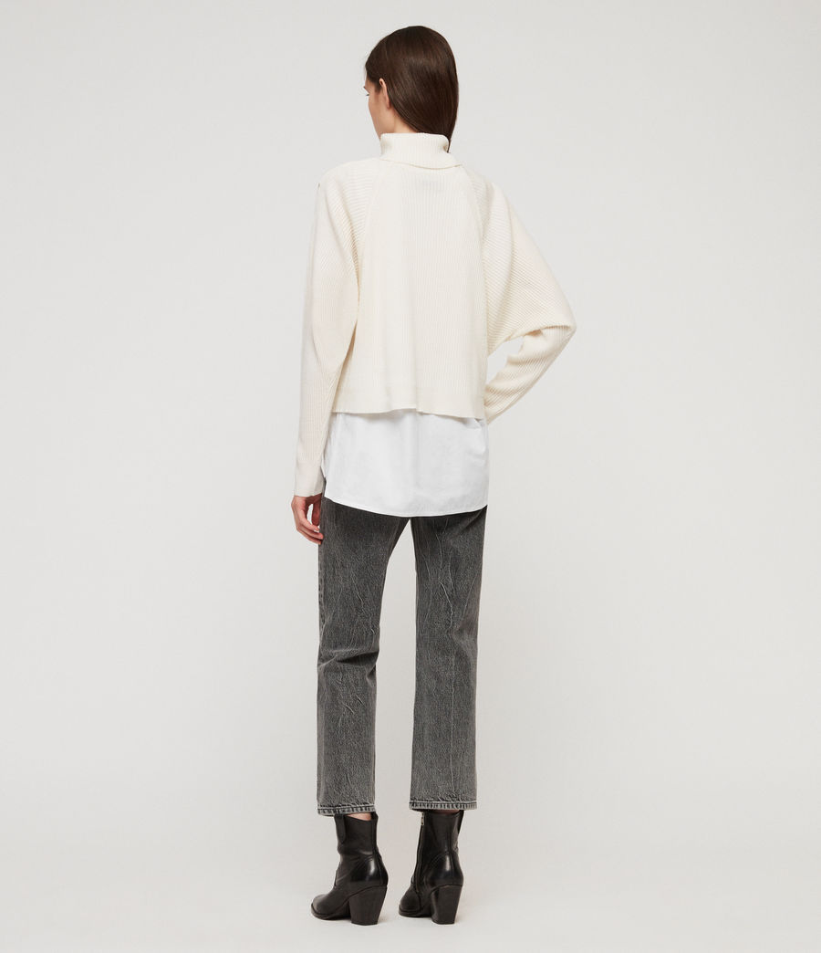 Womens Marias Sweater (chalk_white) - Image 5