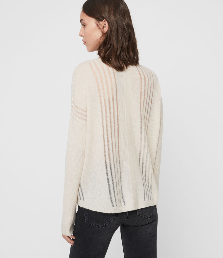 Womens Mara Turtle Neck Sweater (china_white) - Image 5