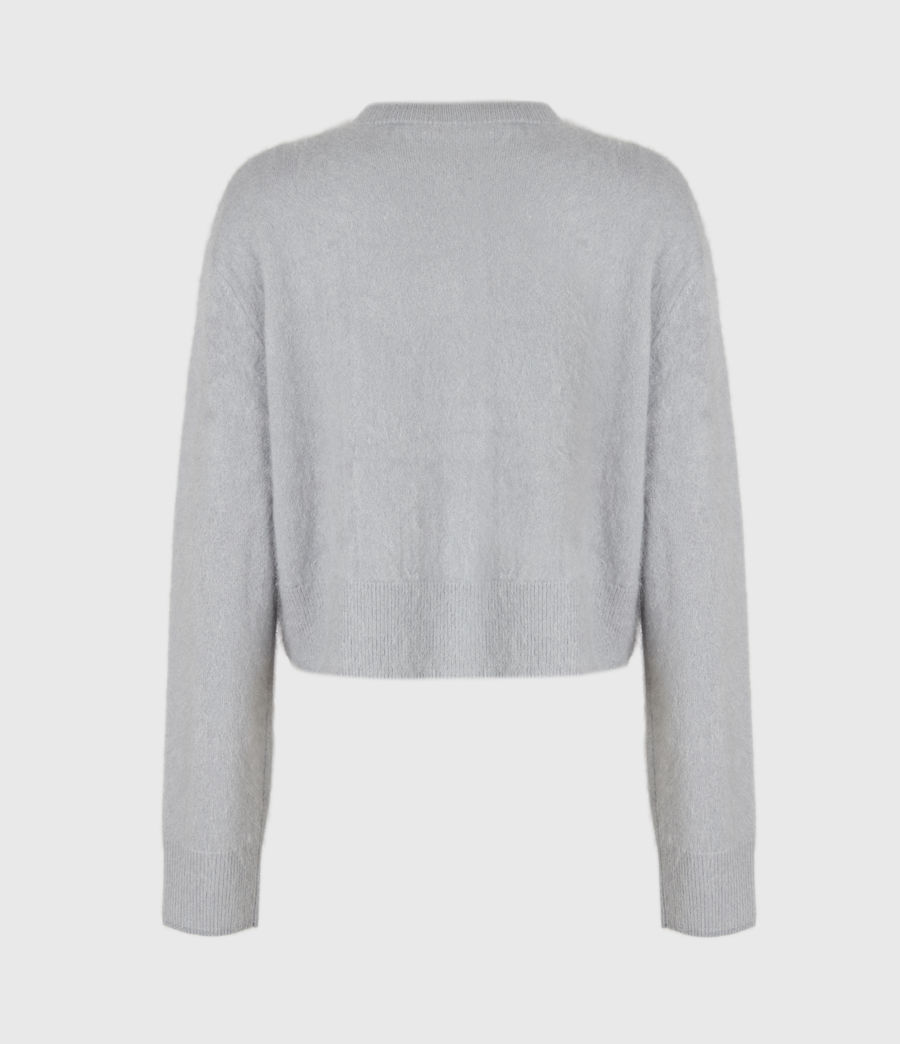 Women's Chrissy Cashmere Cardigan (cement_grey) - Image 3