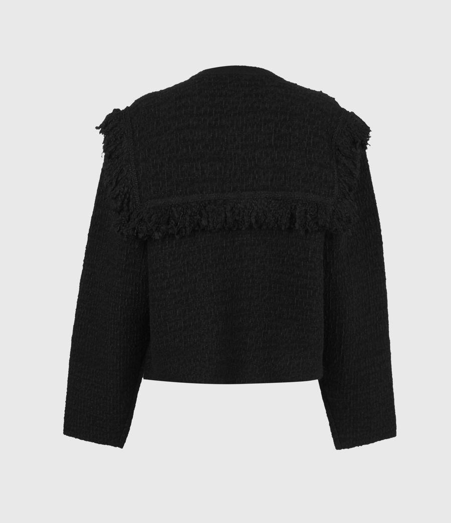 Womens Ashley Tassel Jacket (black) - Image 3