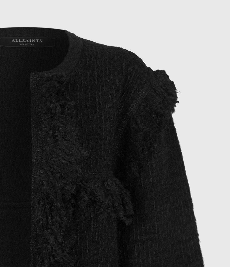 Womens Ashley Tassel Jacket (black) - Image 5