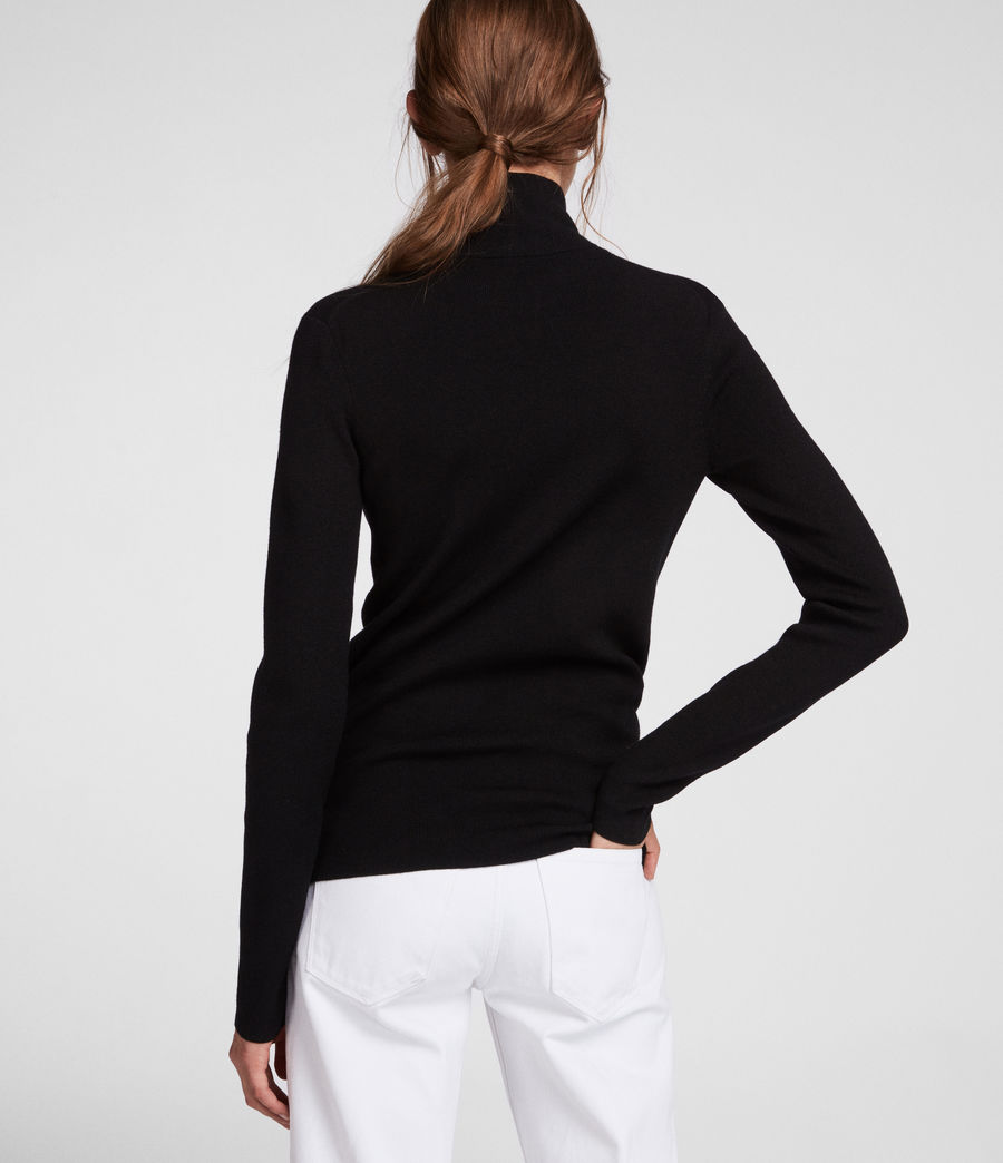 Mujer Lacey Jumper (black) - Image 5