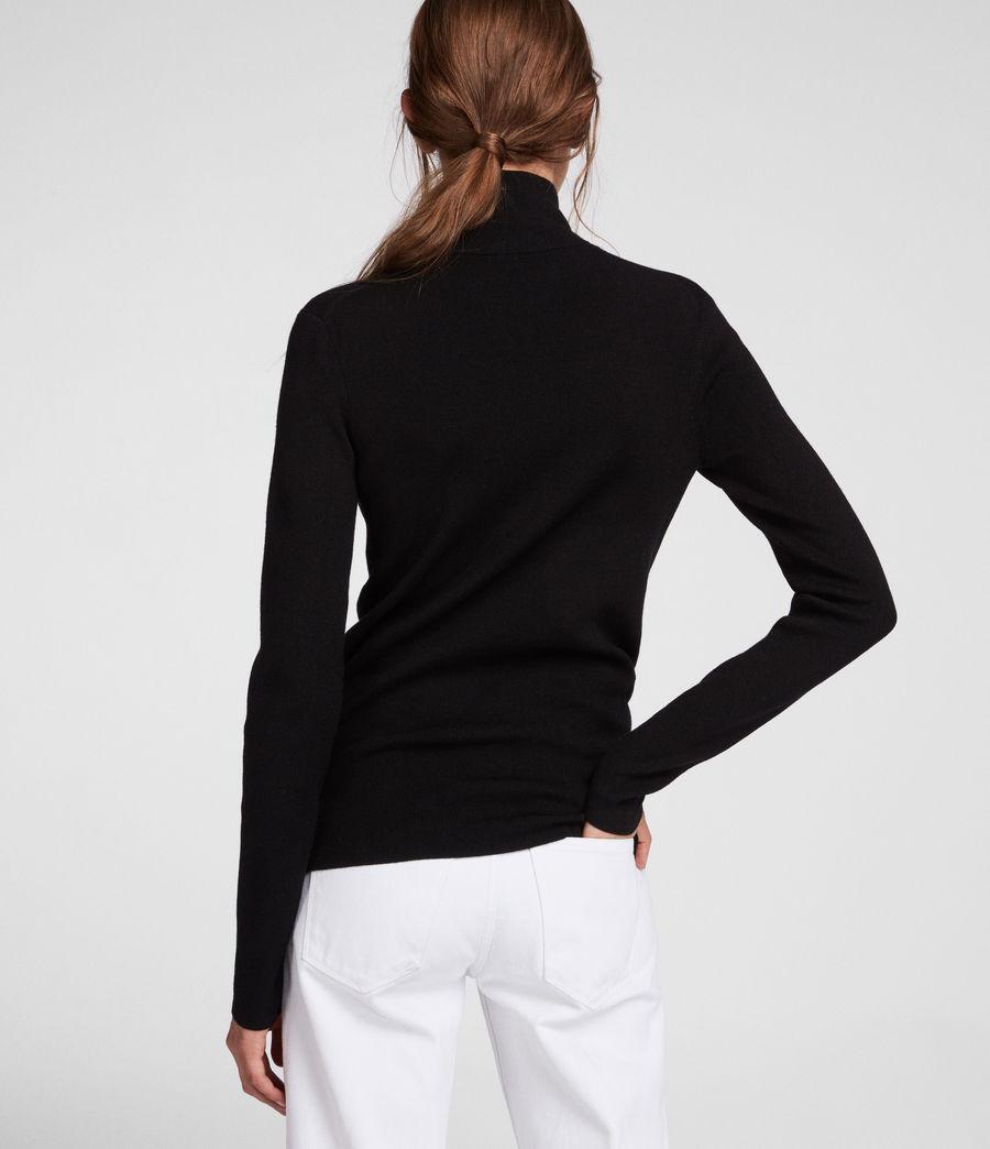 Femmes Pull Lacey (black) - Image 5