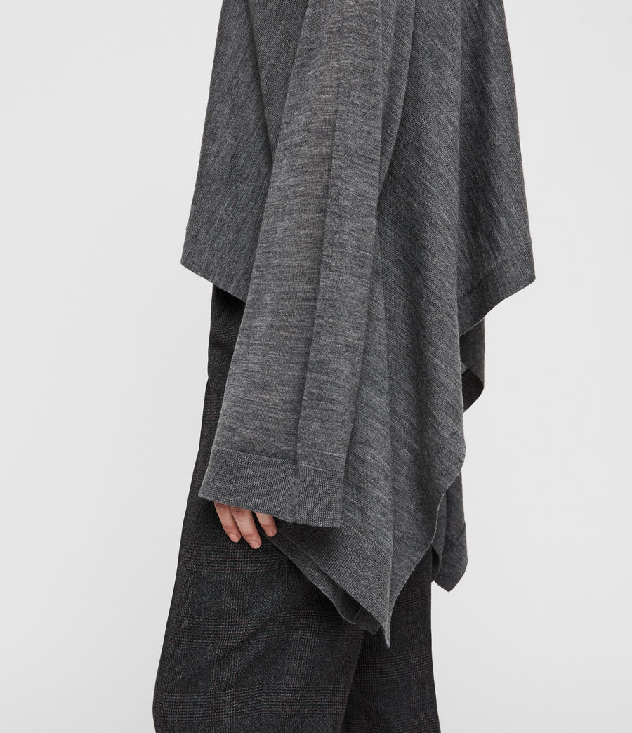 Donne Tonia Cape (charcoal_grey) - Image 2