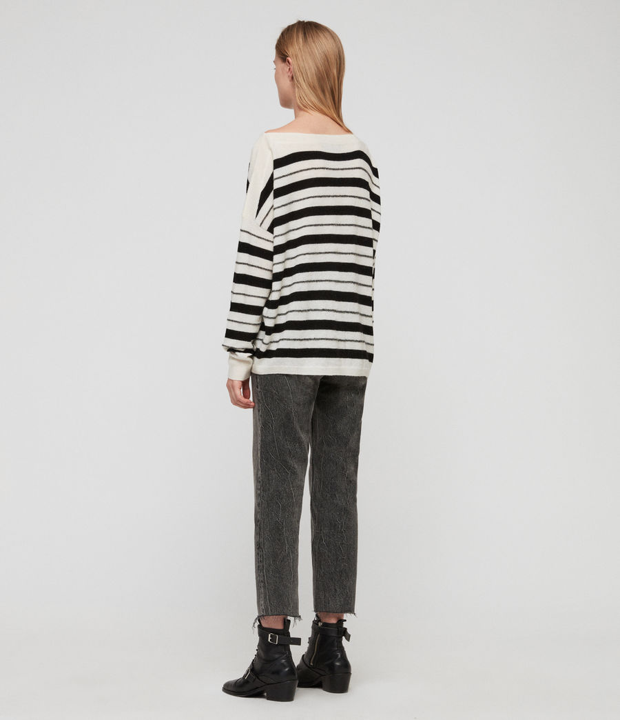 Women's Misty Jumper (chalk_white_black) - Image 4
