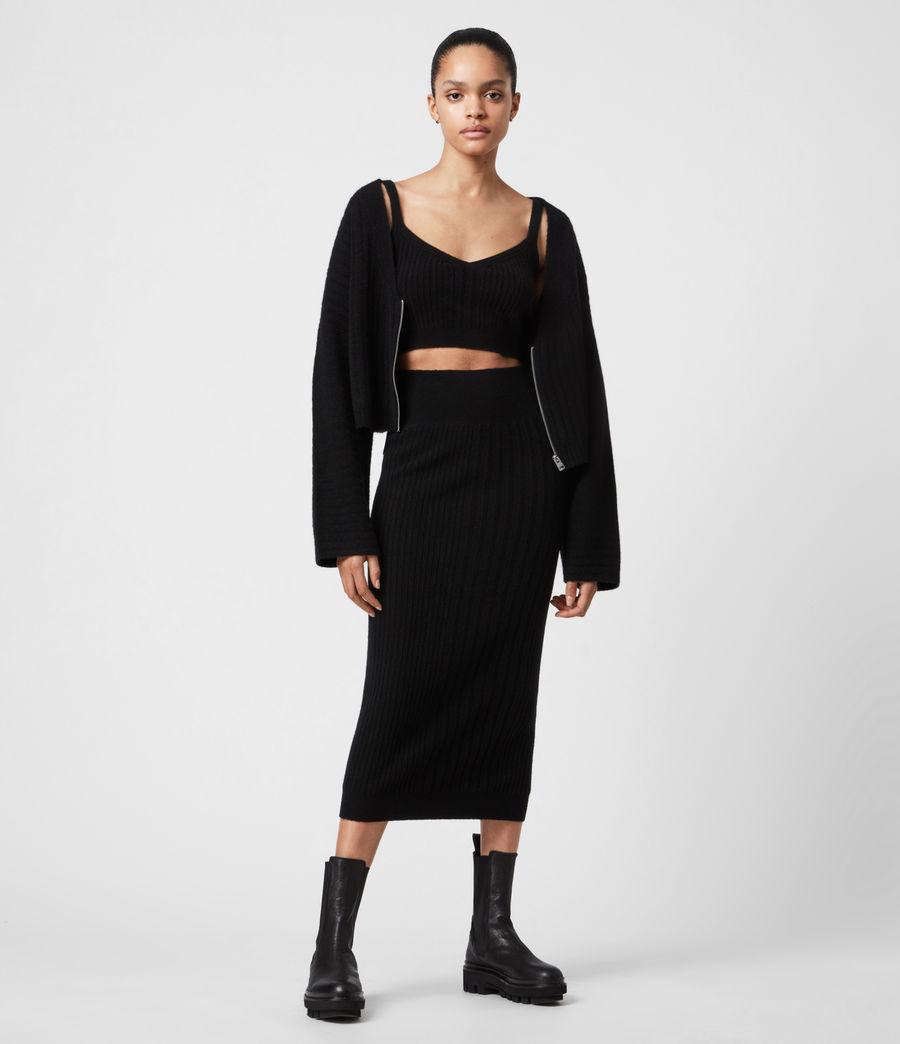 Womens Enya Cardigan (black) - Image 7