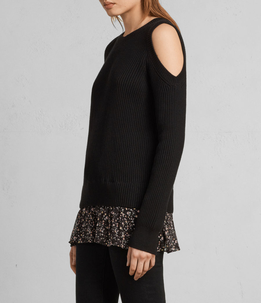 Damen Pepper Pullover (black) - Image 1
