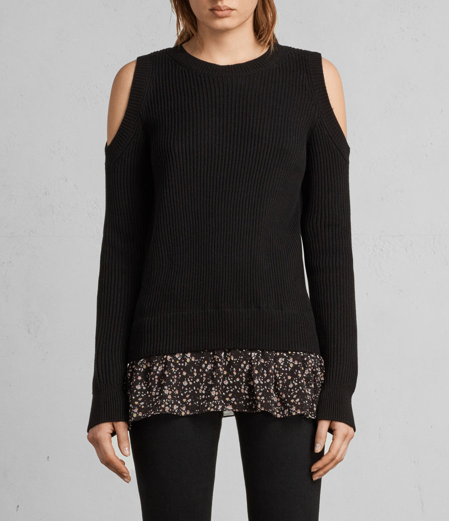 Damen Pepper Pullover (black) - Image 3