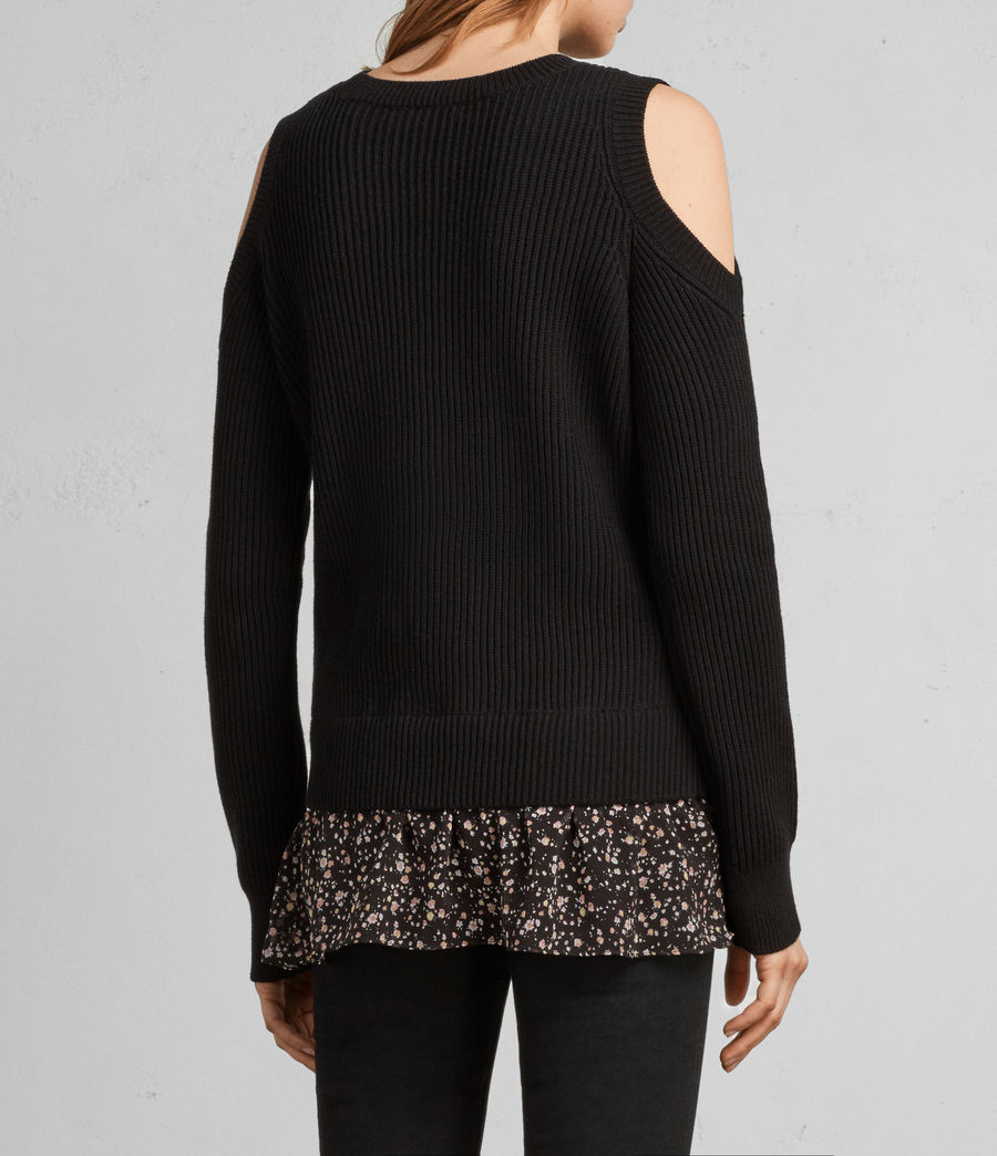 Damen Pepper Pullover (black) - Image 4