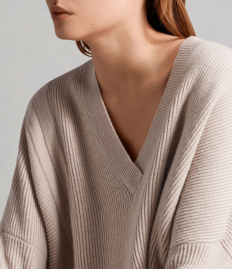 Women's Able Laced Jumper (quartz_pink_marl) - Image 4