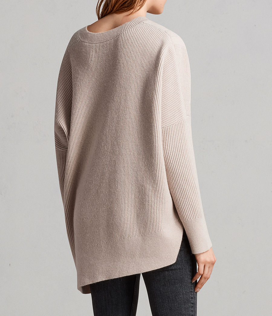 Women's Able Laced Jumper (quartz_pink_marl) - Image 5