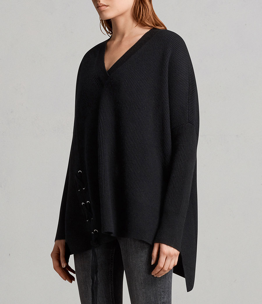 Women's Able Laced Jumper (black) - Image 4
