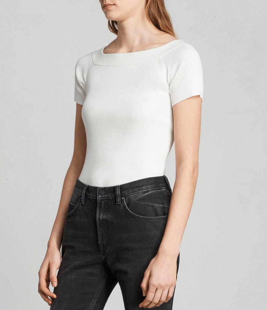 Womens Lavine Bandeau Top (ecru_white) - Image 3