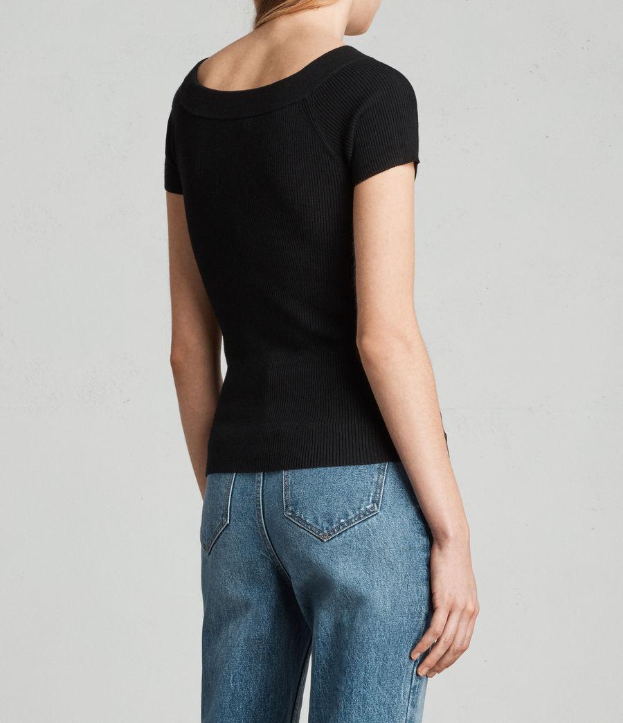 Damen Lavine Bandeau Top (black) - Image 4