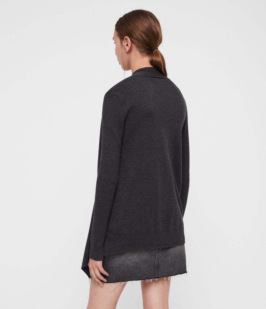 Donne Cardigan Drina (charcoal_grey) - Image 4