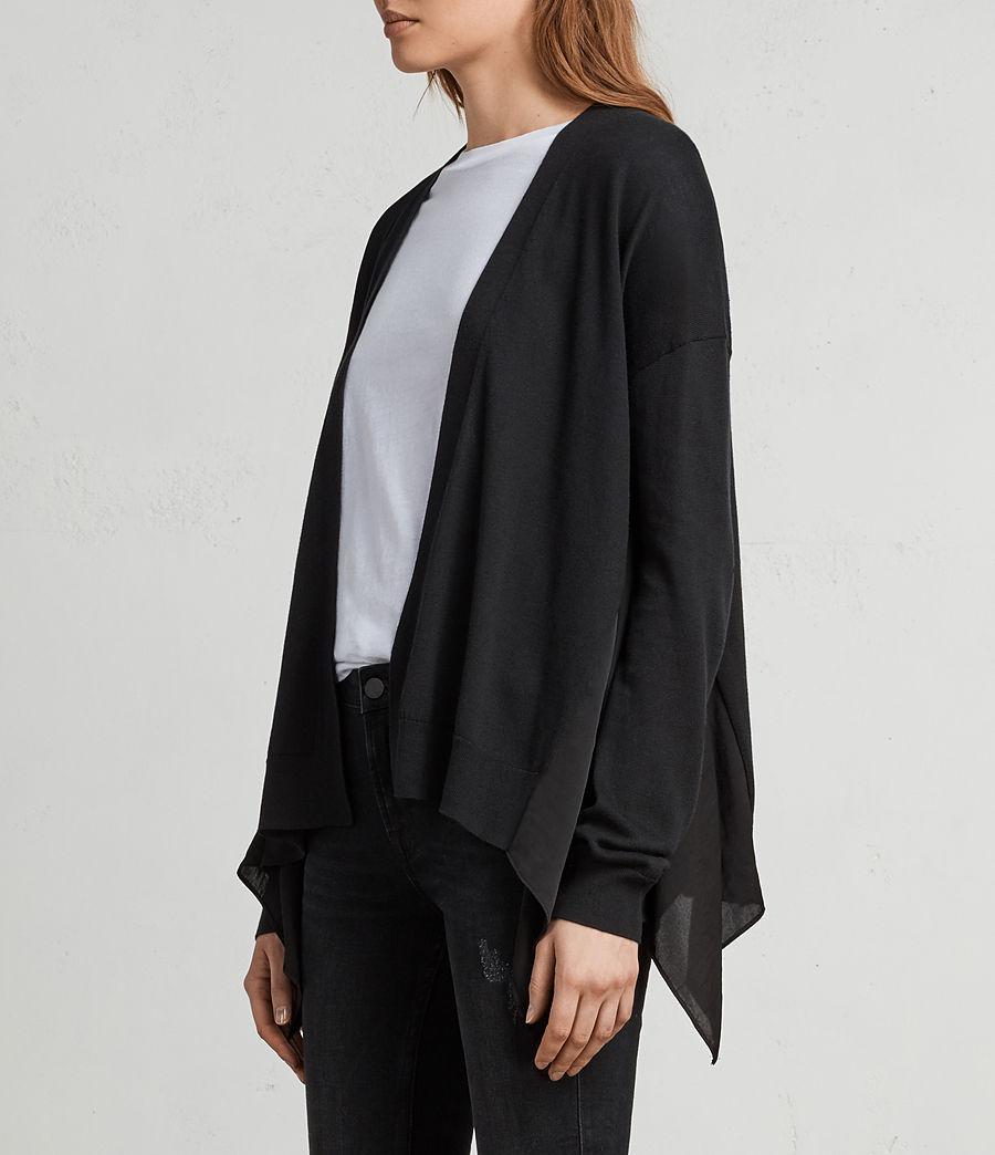 Womens Carmel Cardigan (black) - Image 1