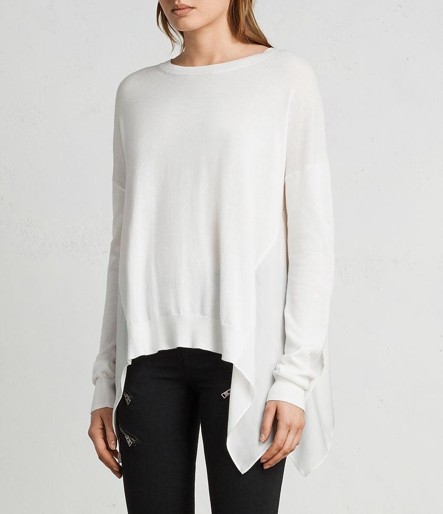 Mujer Jersey Carmel (chalk_white) - Image 1