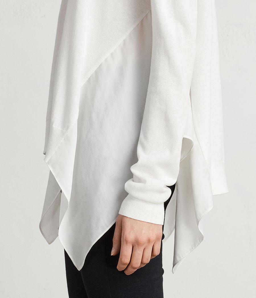 Mujer Jersey Carmel (chalk_white) - Image 2