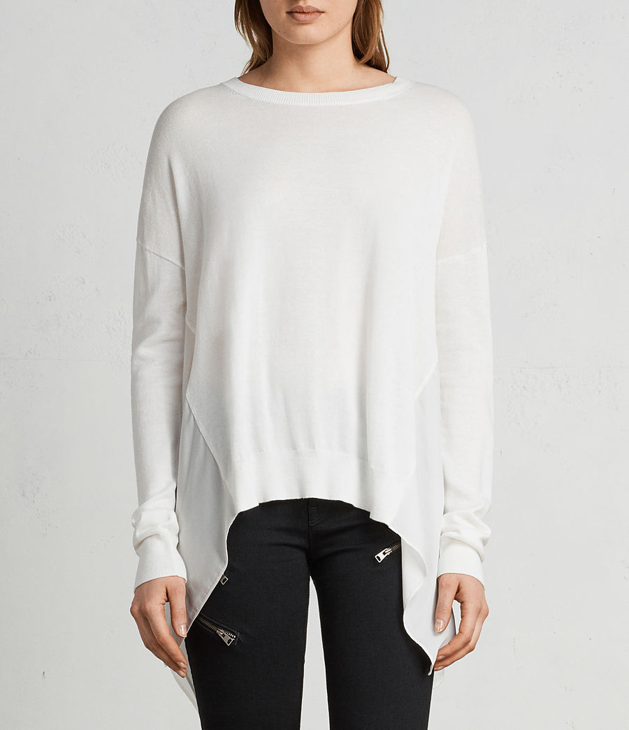 Mujer Jersey Carmel (chalk_white) - Image 3