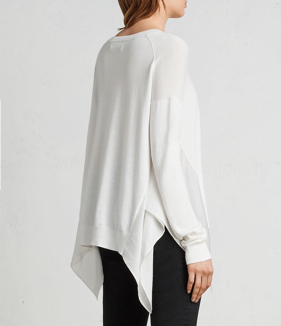 Mujer Jersey Carmel (chalk_white) - Image 4