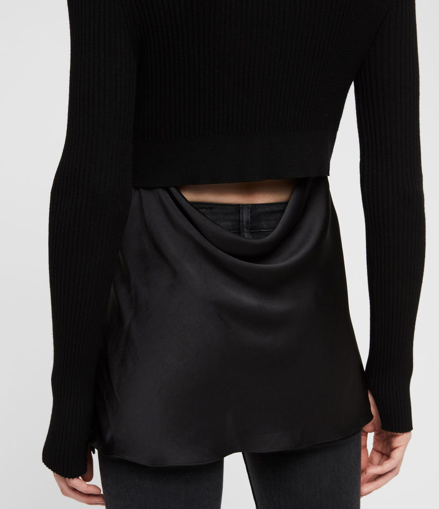 Donne Maglione Taya (black) - Image 2