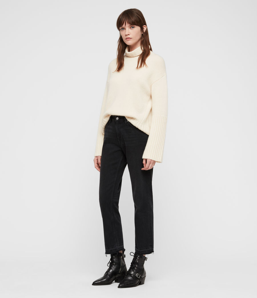 Women's Hanbury Funnel Neck (chalk_white) - Image 1