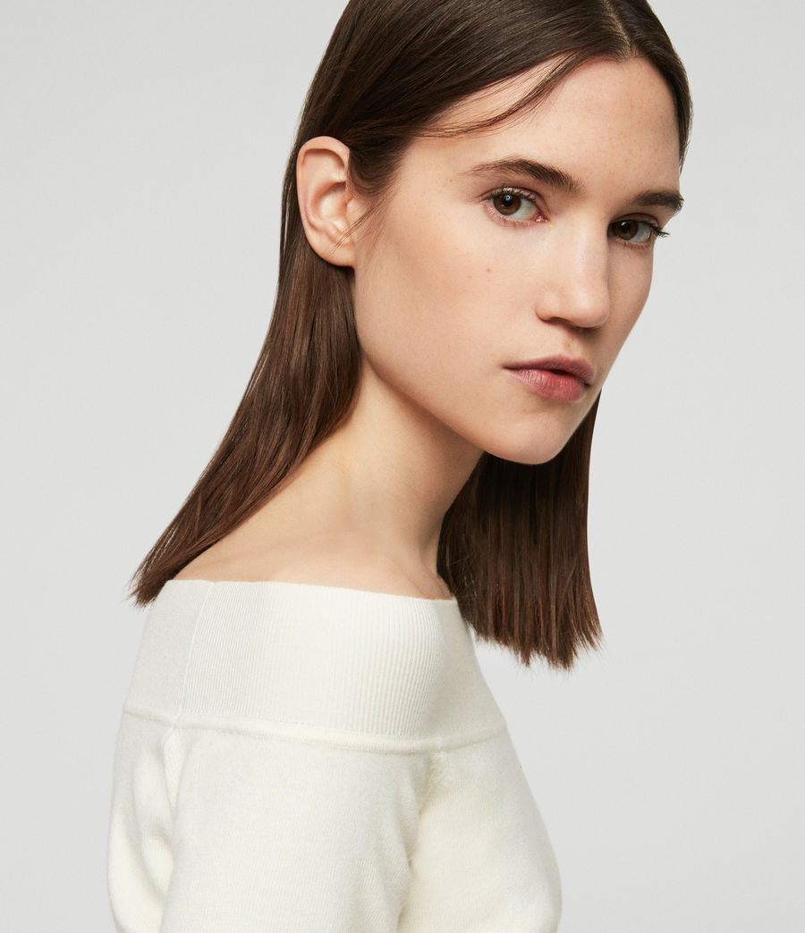 Femmes Pull Alyssa (chalk_white) - Image 2