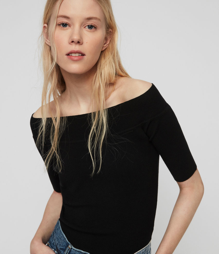 Damen Alyssa Top (black) - Image 1
