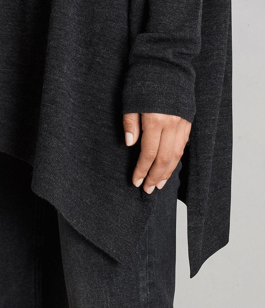 Mujer Jersey Iris (cinder_black_marl) - Image 4