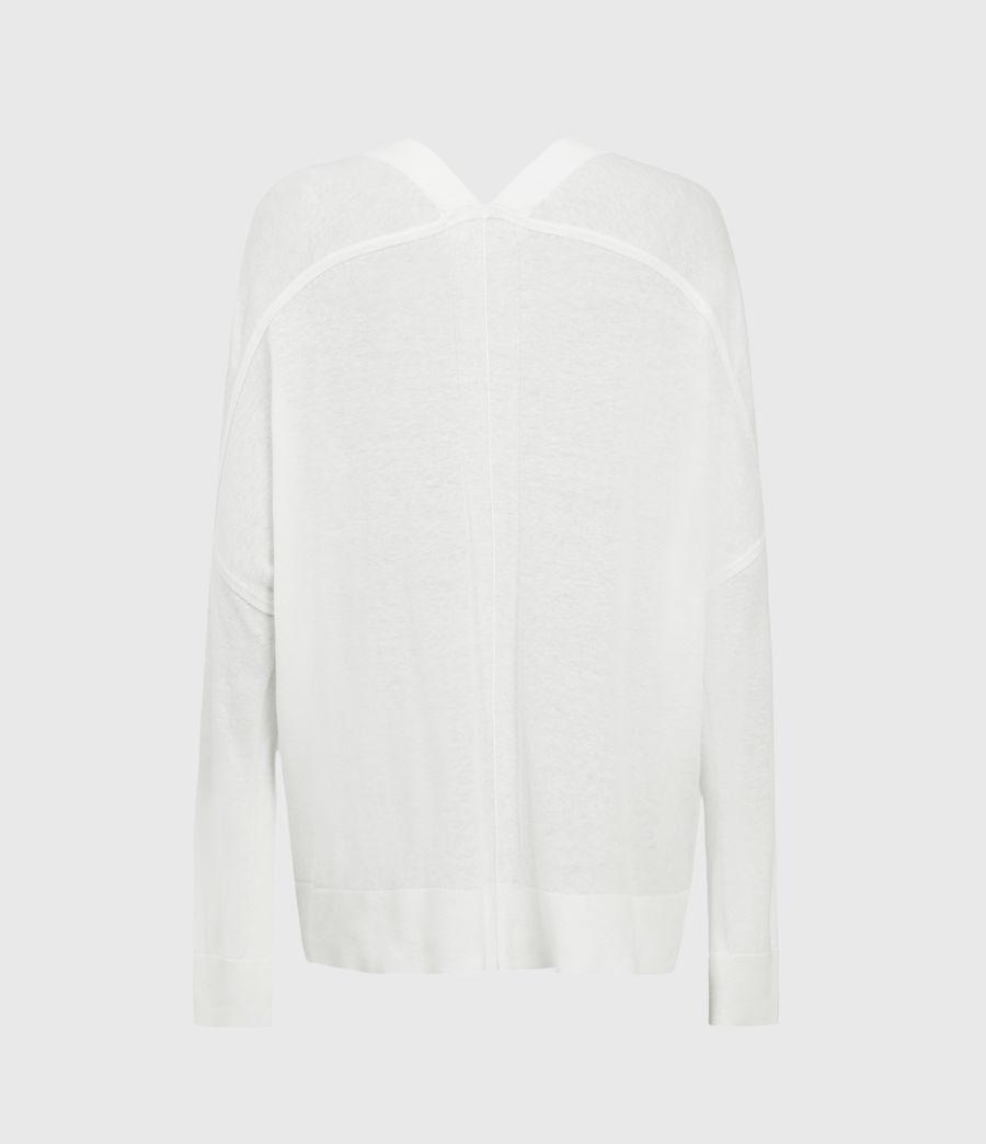 Donne Ronnie Linen Blend Cardigan (paper_white) - Image 2