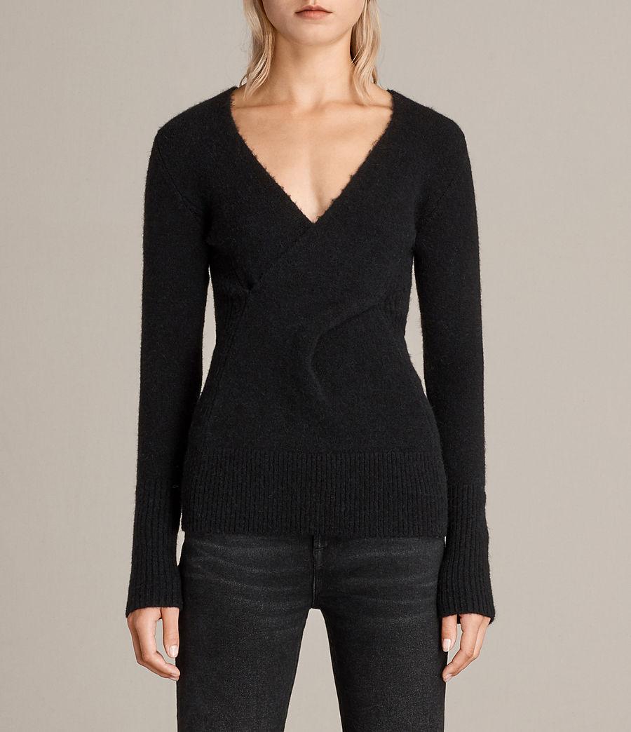 Damen Faria Pullover (black) - Image 1