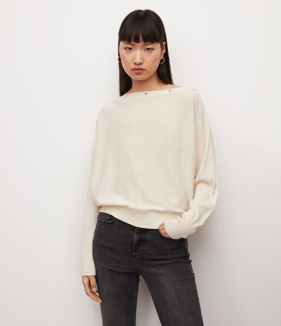 Damen Eli Pullover (cream_white) - Image 2
