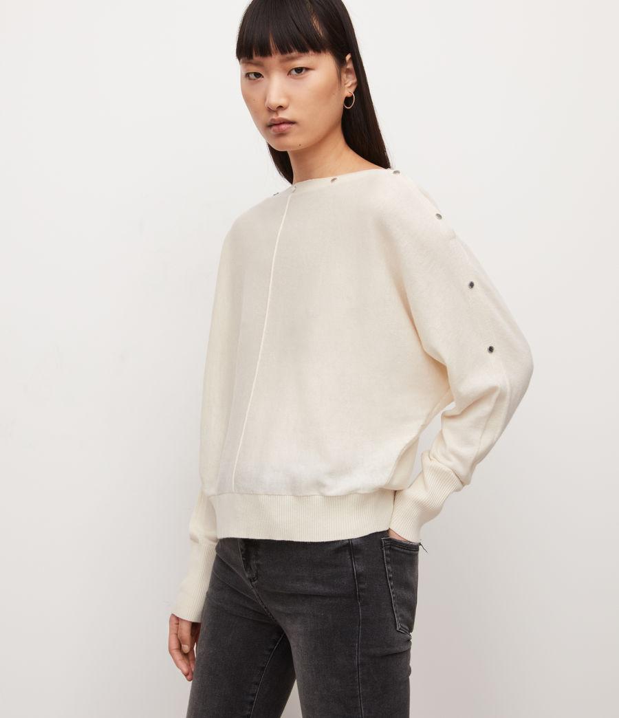 Damen Eli Pullover (cream_white) - Image 4