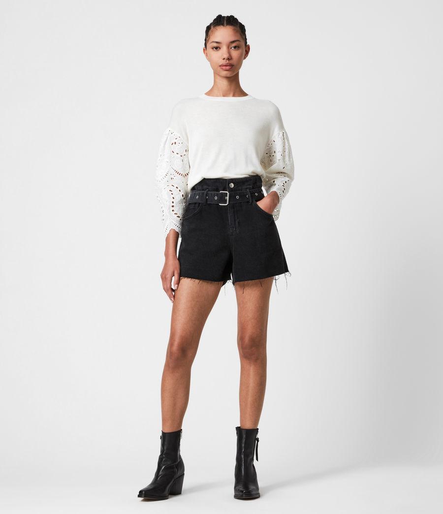 Mujer Skye Essie Silk Blend Sweater (paper_white) - Image 1