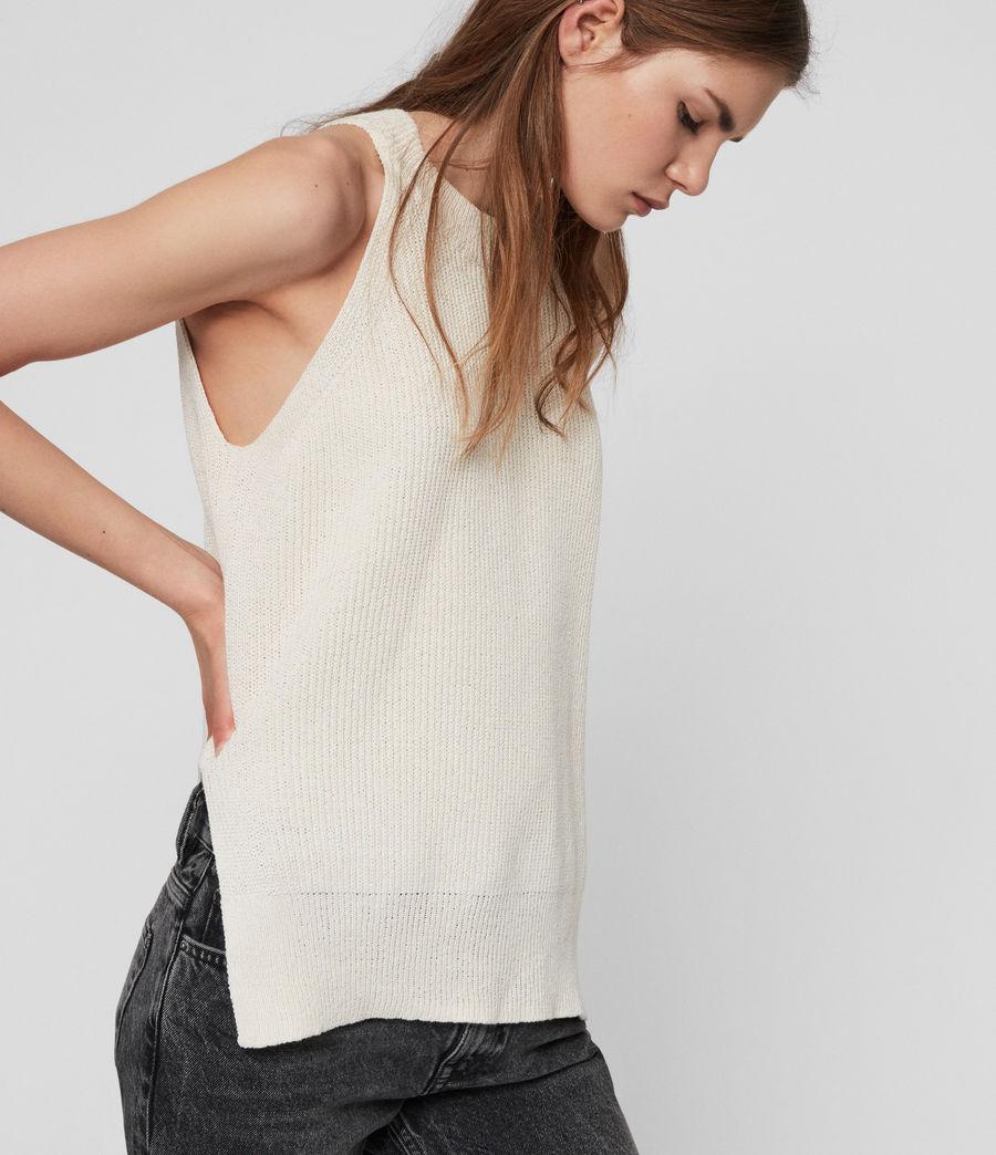 Womens Haliki Vest Top (stone_white) - Image 1