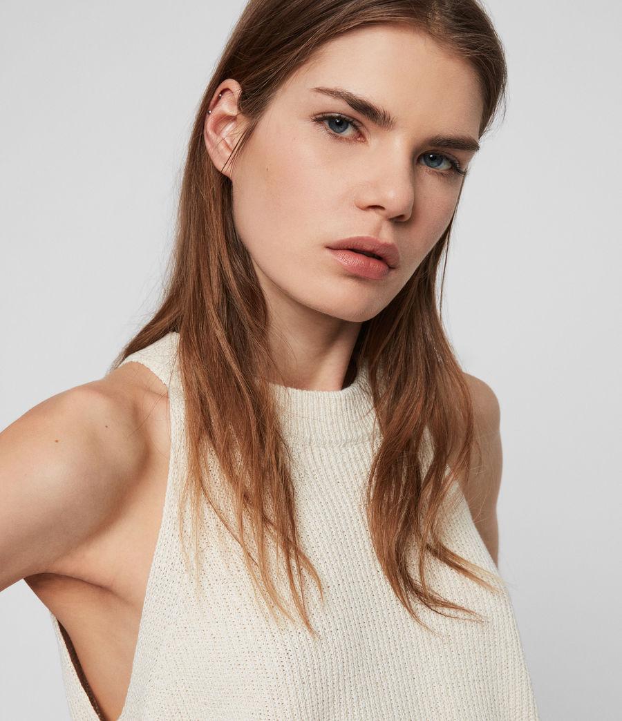 Womens Haliki Vest Top (stone_white) - Image 3
