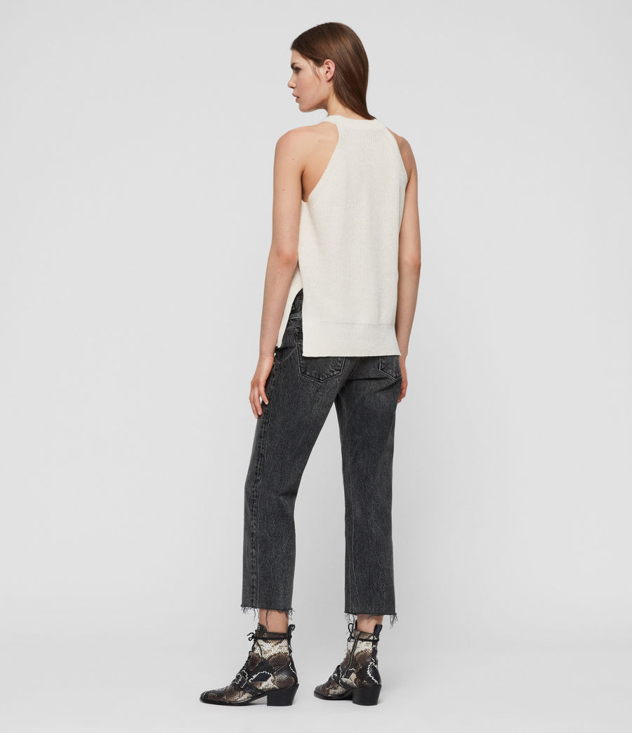 Womens Haliki Vest Top (stone_white) - Image 4