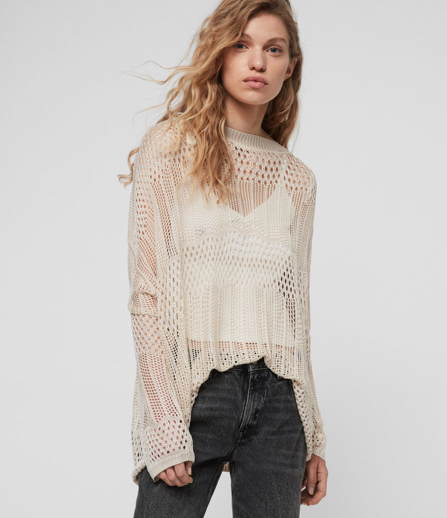 Womens Estero Sweater (chalk_white) - Image 2