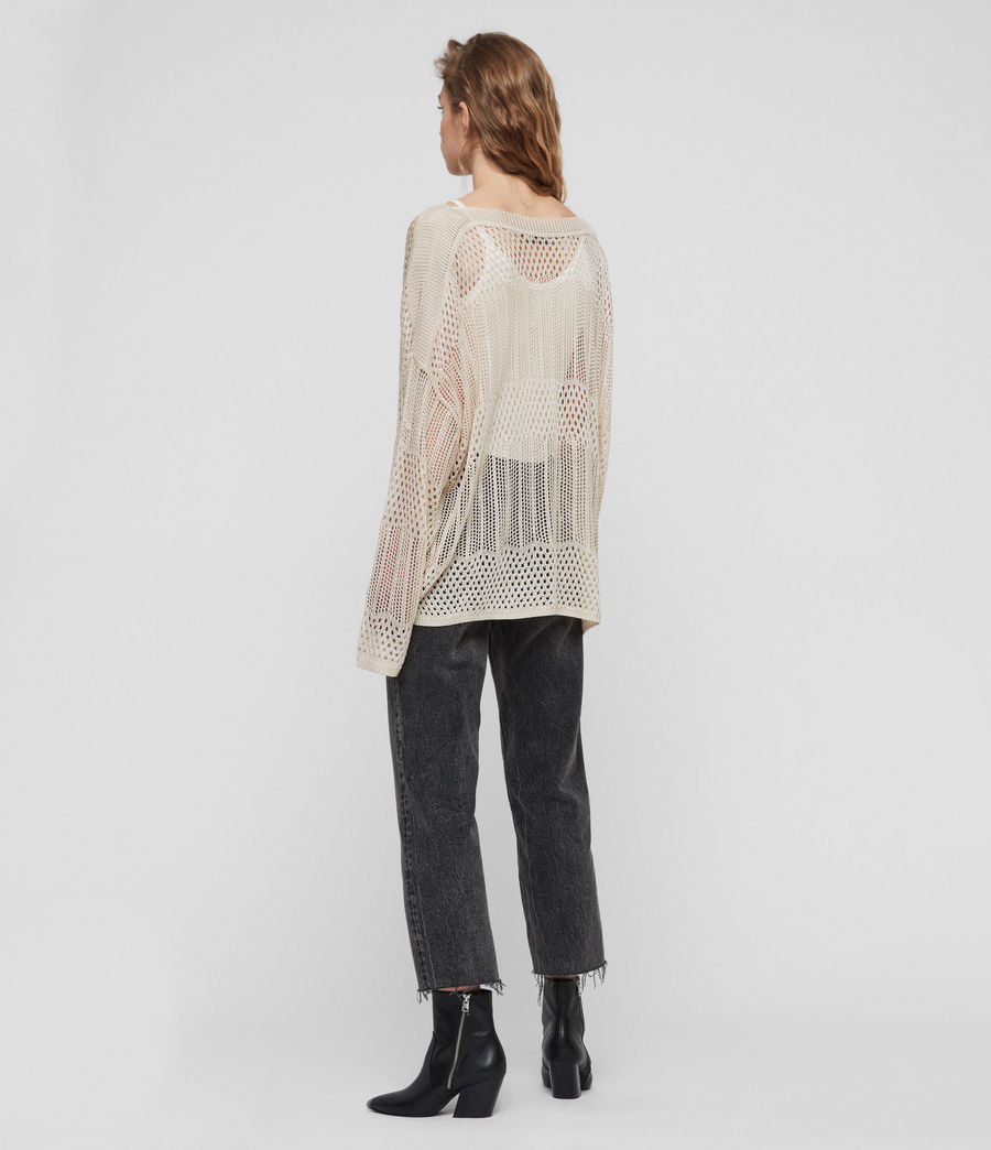 Womens Estero Sweater (chalk_white) - Image 3