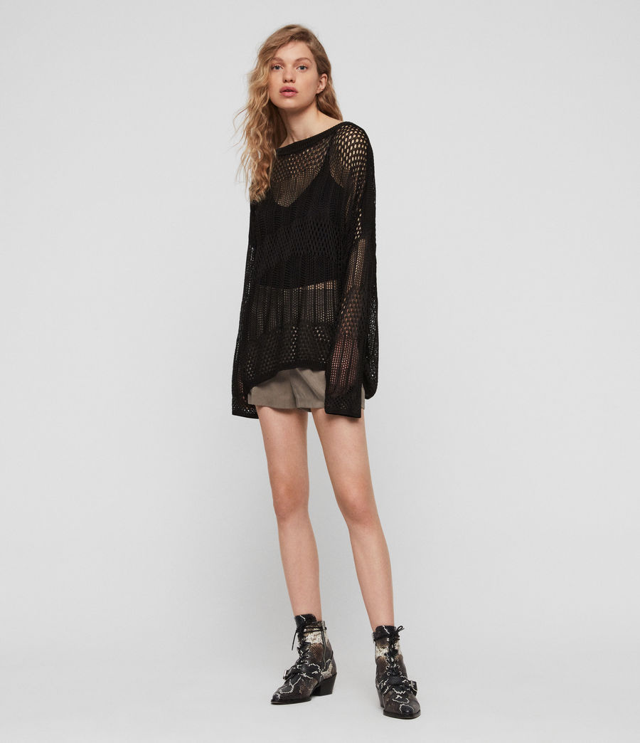 Womens Estero Sweater (black) - Image 1