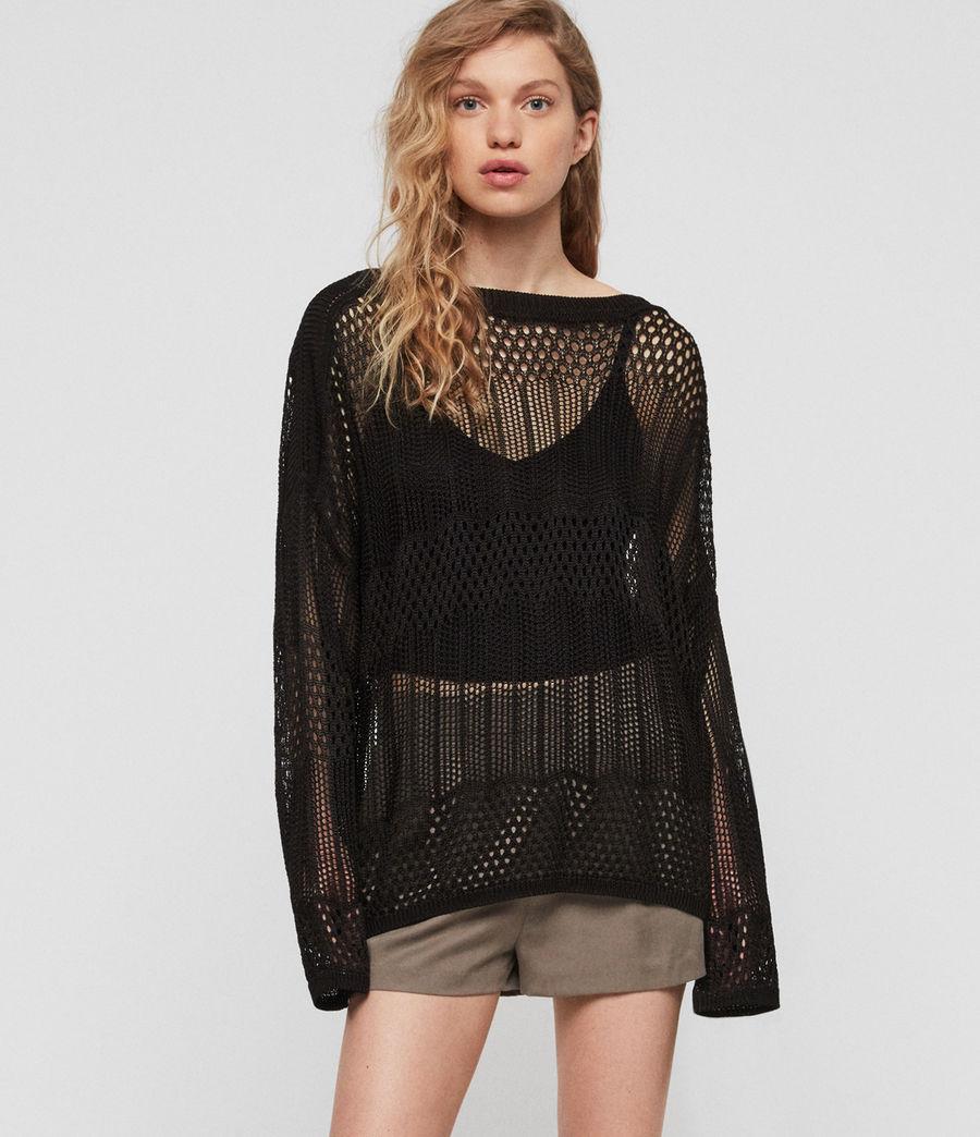 Womens Estero Sweater (black) - Image 2