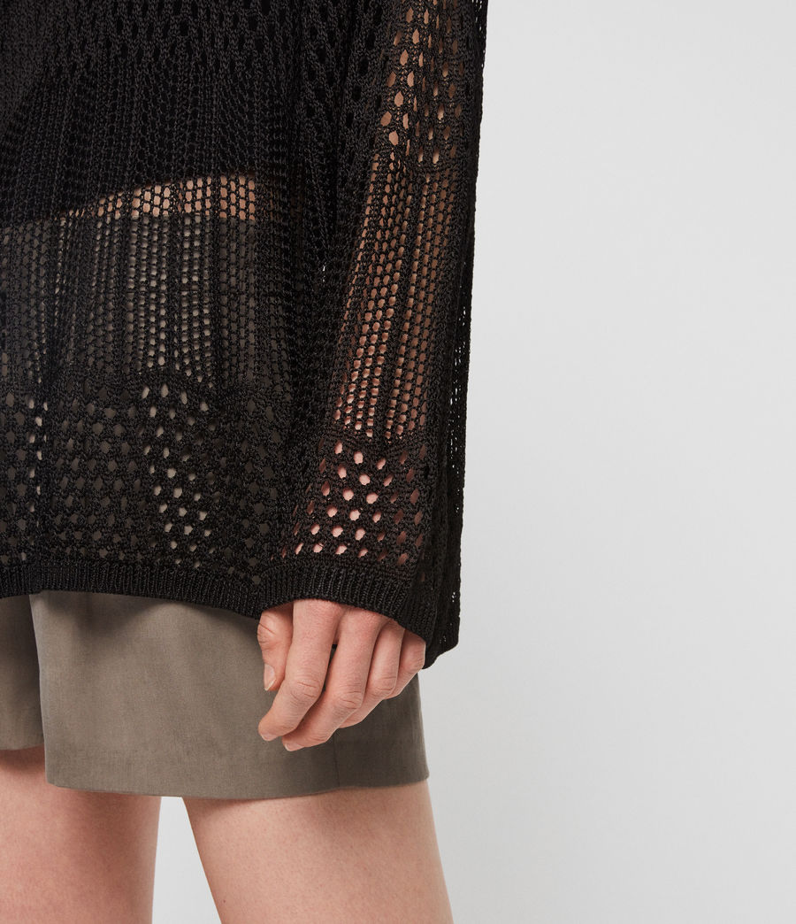 Womens Estero Sweater (black) - Image 3