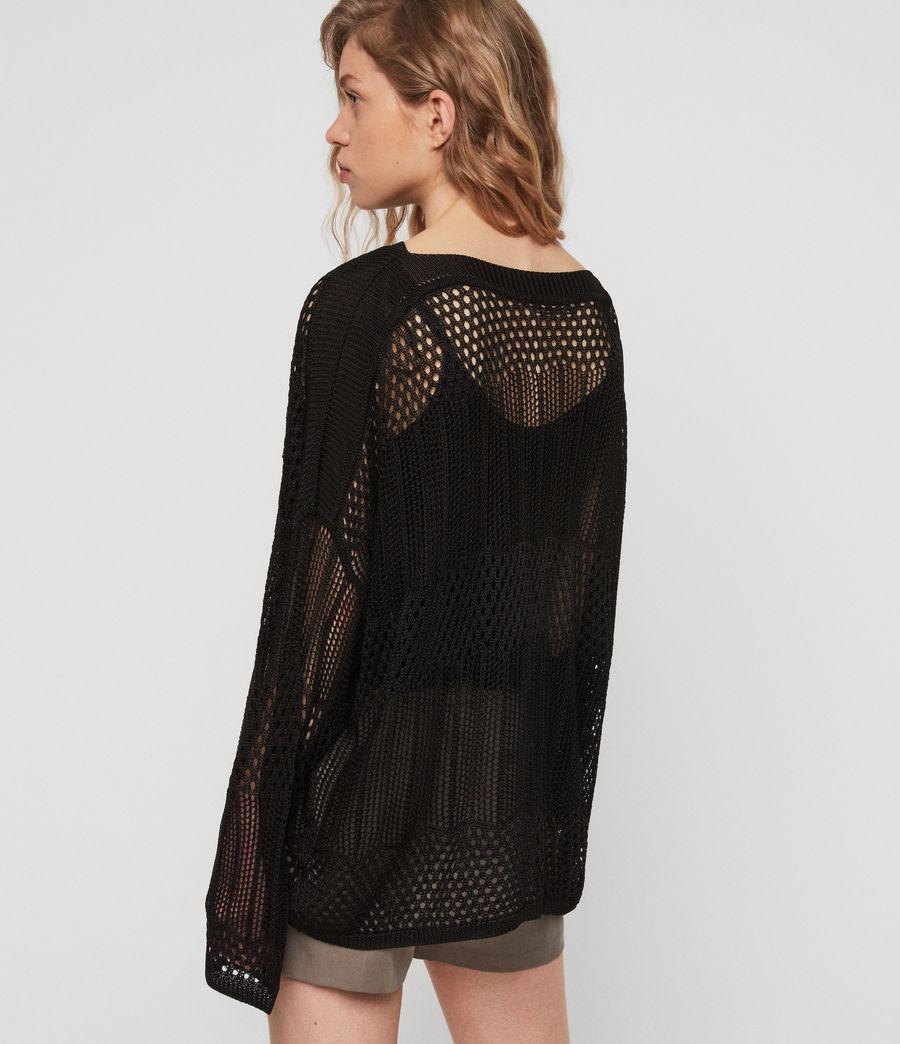 Womens Estero Sweater (black) - Image 5