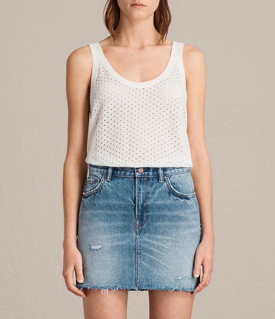 Damen Covey Vest (chalk_white) - Image 1