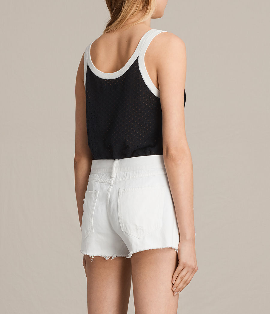 Damen Covey Vest (ink_blue_chalk_wht) - Image 3