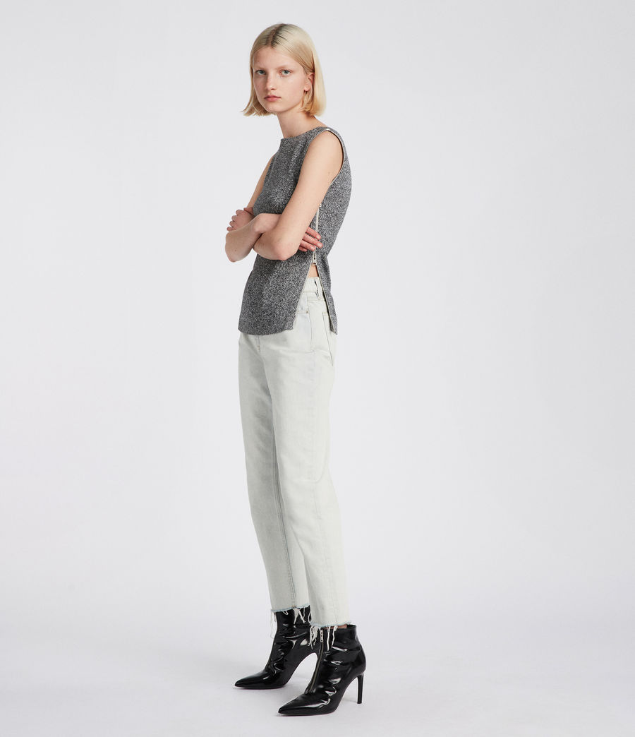 Donne Top Anza (grey) - Image 1