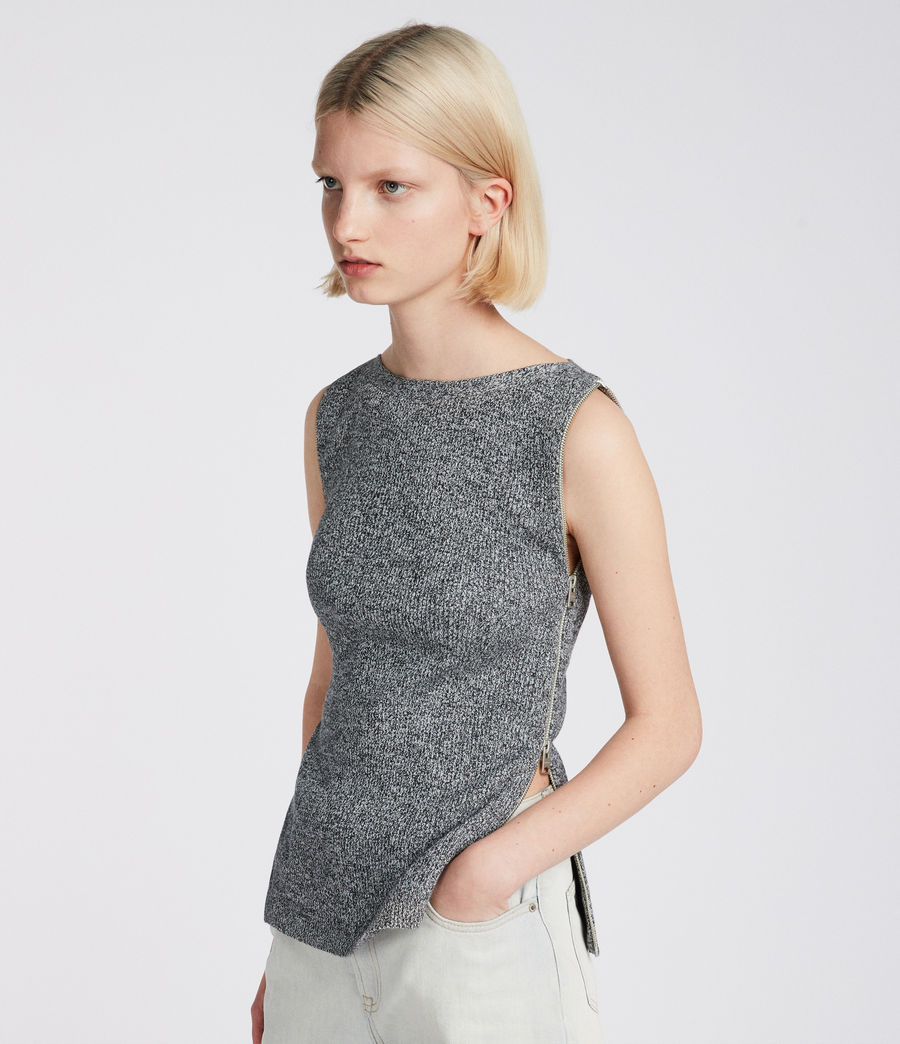Donne Top Anza (grey) - Image 2