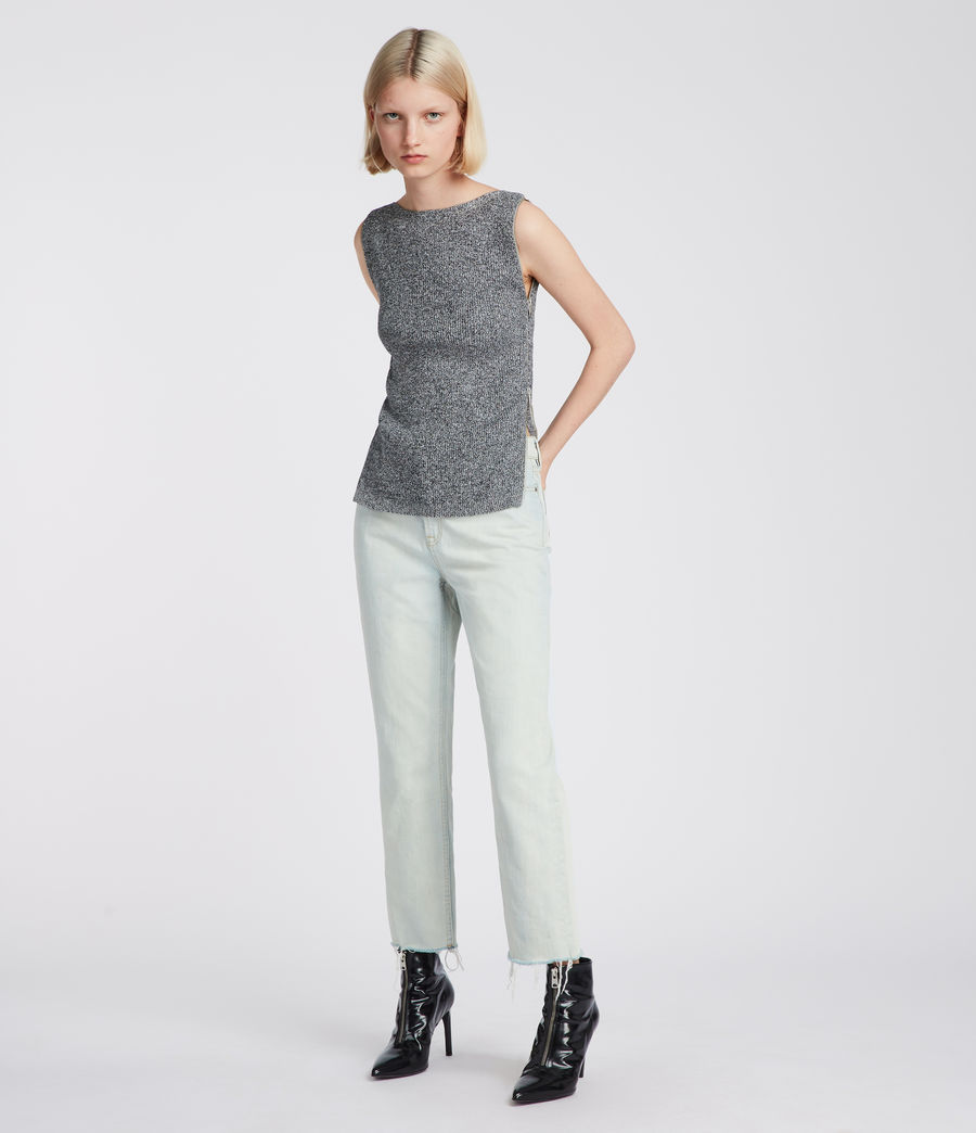 Donne Top Anza (grey) - Image 3