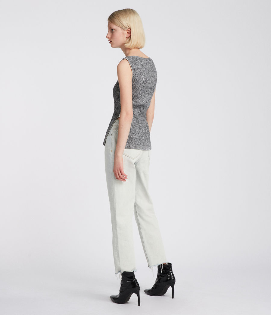 Donne Top Anza (grey) - Image 4